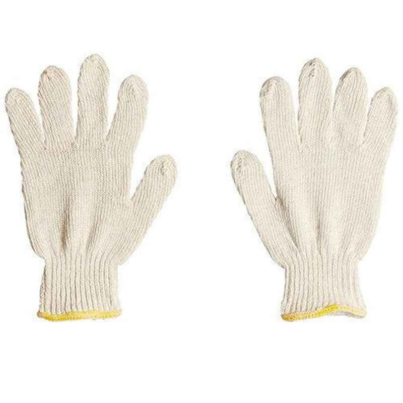 Siddhivinayak 50g Cotton Knitted Hand Gloves (Pack of 60)