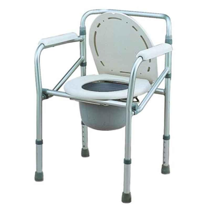 Entros 125kg Aluminum Commode Chair, SC7001L