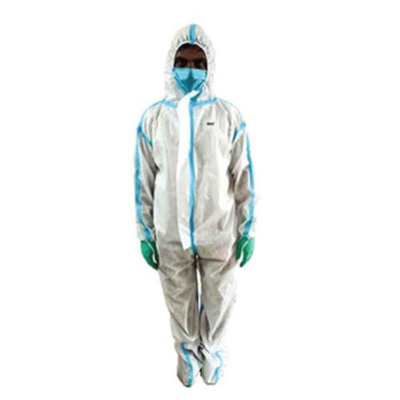 Kiran Plus Non Woven Fabric Personal Protection Equipment (PPE) Kit with TPU Film Lamination