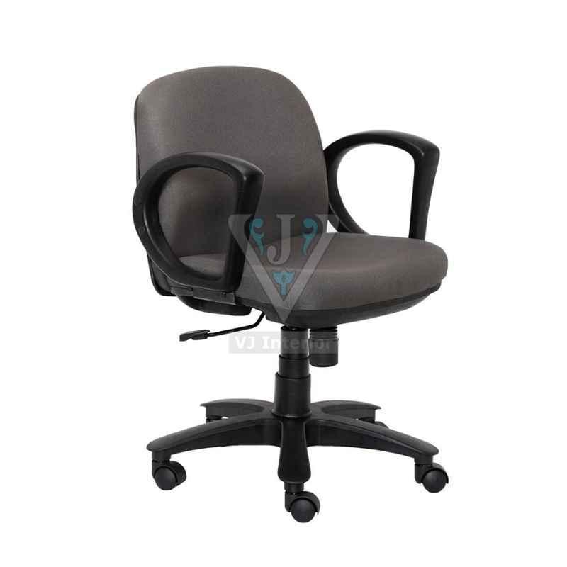 VJ Interior 17x19x17 inch Cushioned Padded Fabric Workstation Chair, VJ-1053
