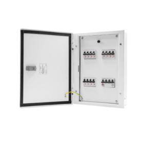 Wipro North West Avancee 8 Ways TPN Double Doors Distribution Board, NW-AV08WTPNDD