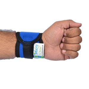 Vkare Neoprene Blue Wrist Binder, VKB0105