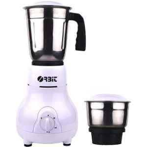 Orbit Matka 450W White Juicer Mixer Grinder with 2 Jars