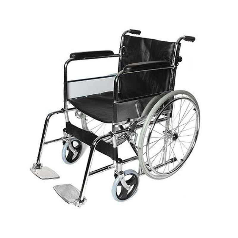TRM Polyester Fiber Simple Folding Wheelchair, TR809-46