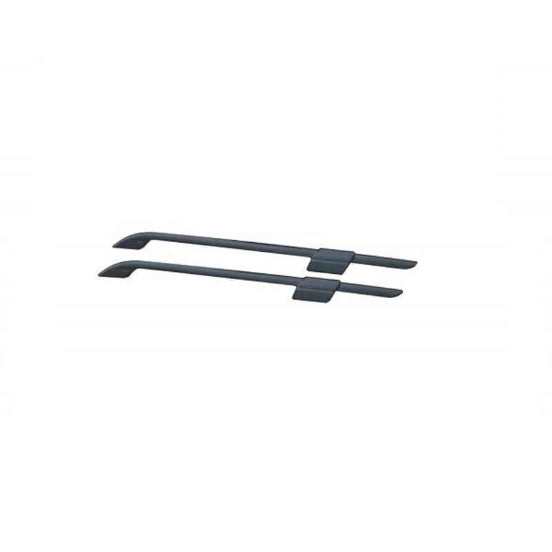 Oscar ABS Grey Car Roof Rail Pair for Mahindra Everito Calb D4, OSCRR1168