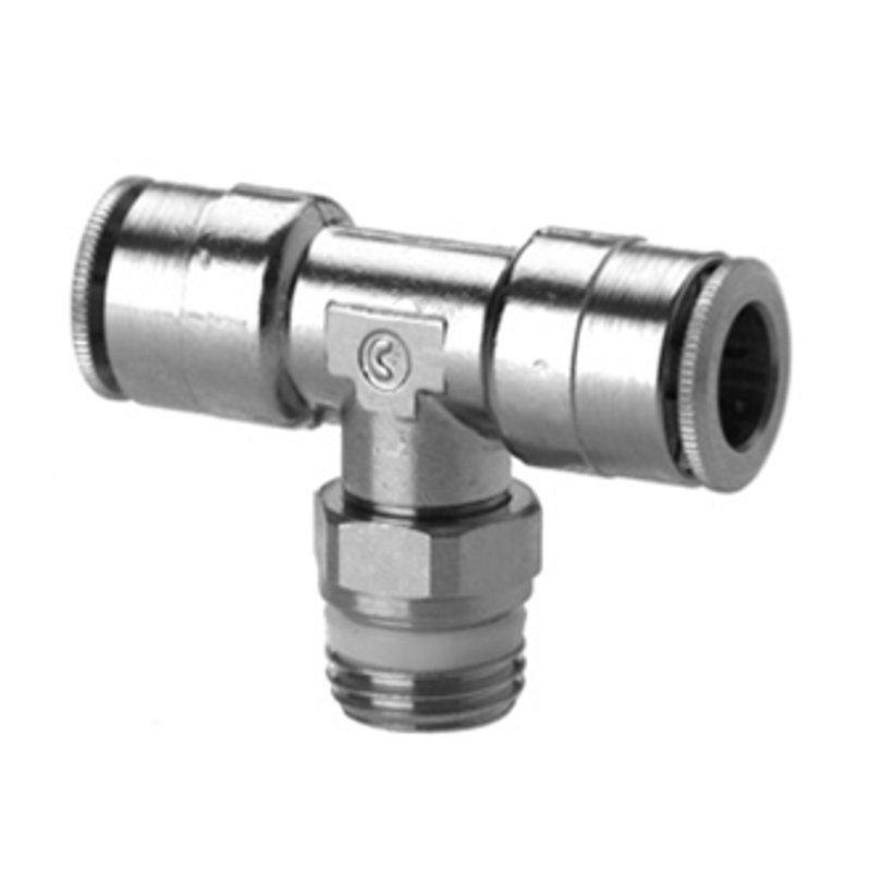 Camozzi Series 6000 8mm Tee Connector, S6430 8-1/4