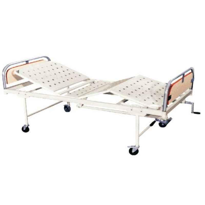 Aar Kay 210x90x60cm DLX Hospital Fowler Bed with Back & Knee Rest