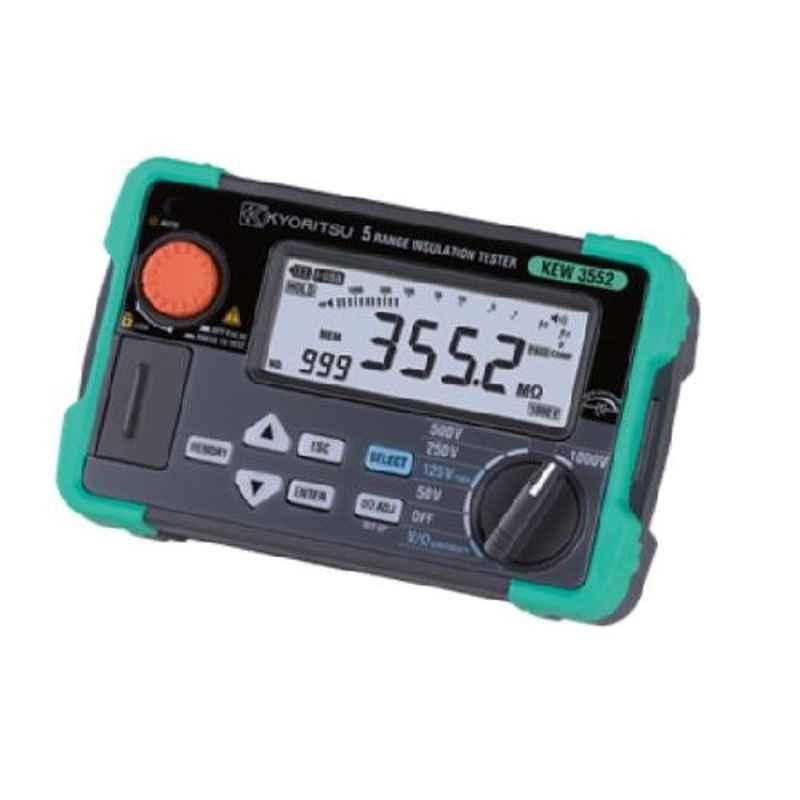 Kyoritsu KEW3552 Digital Insulation/Continuity Tester with USB Interface