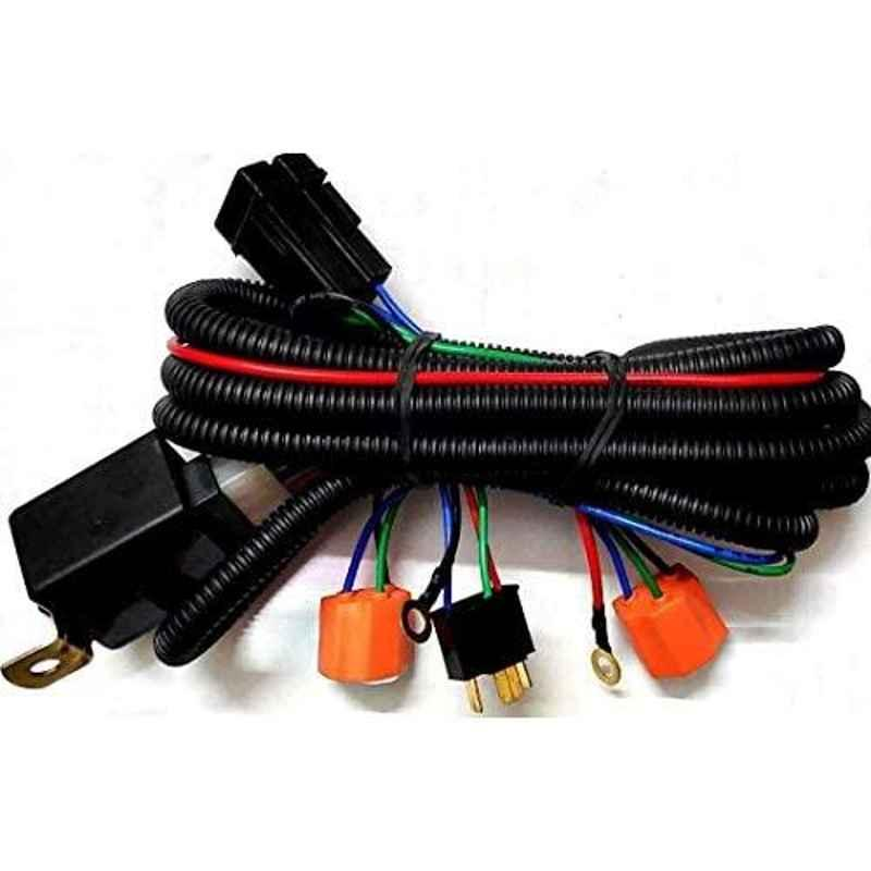 Auto-Ex H4 Headlight Connector Wiring with Relay