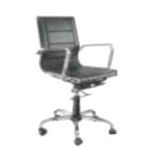 Nice Furniture Back Chrome Low Office Chair, NF-092