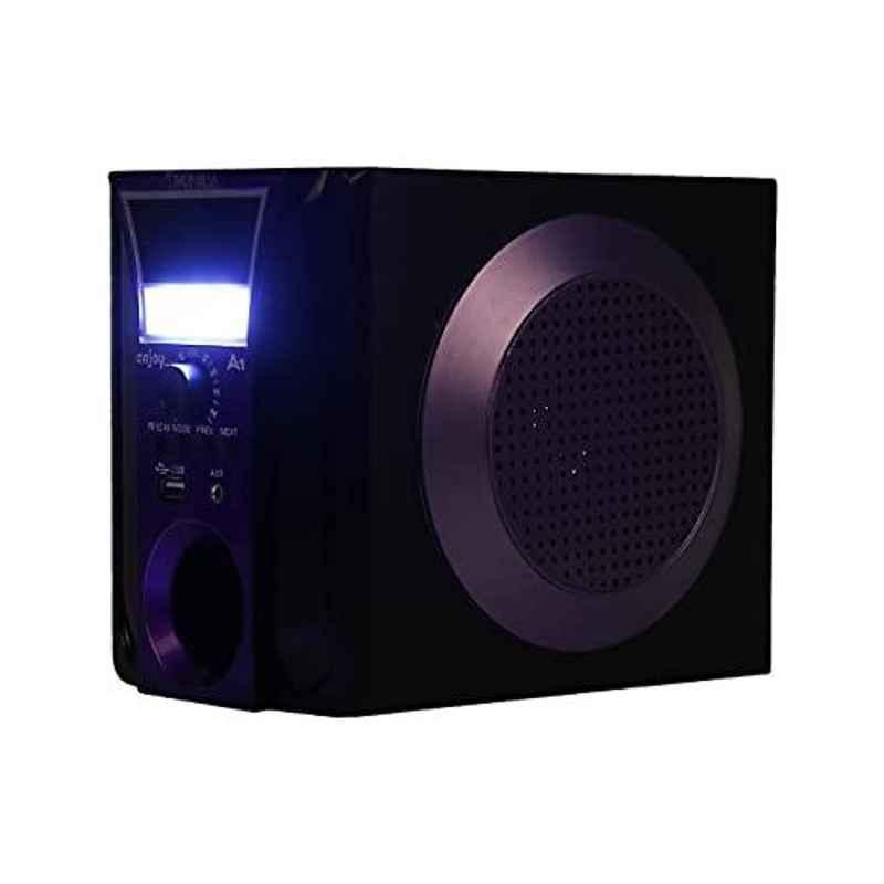 Tronica Enjoy 1000mAh Black Bluetooth Speaker