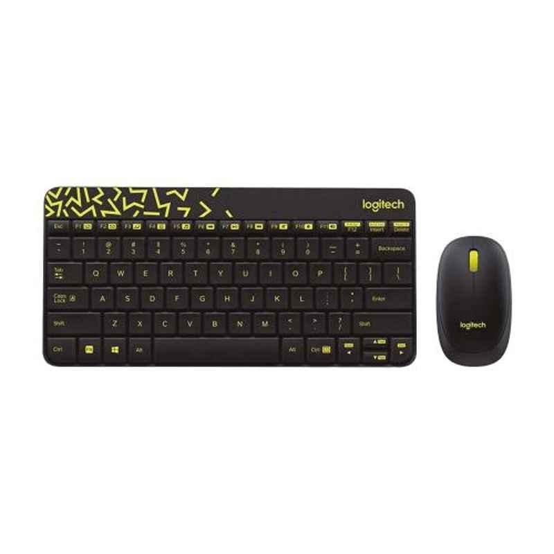 Logitech MK240 Black Wireless Keyboard & Mouse Combo, 920-008202