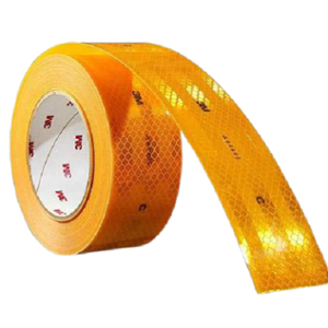 3M 2 inch Yellow High Intensity Reflective Conspicuity Tape, Length: 165 ft