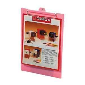 Omega Pastel Pink Student Board Clip, 1711