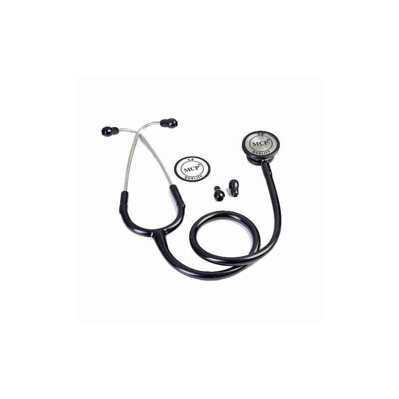 MCP Black Dual Head Stethoscope Adult