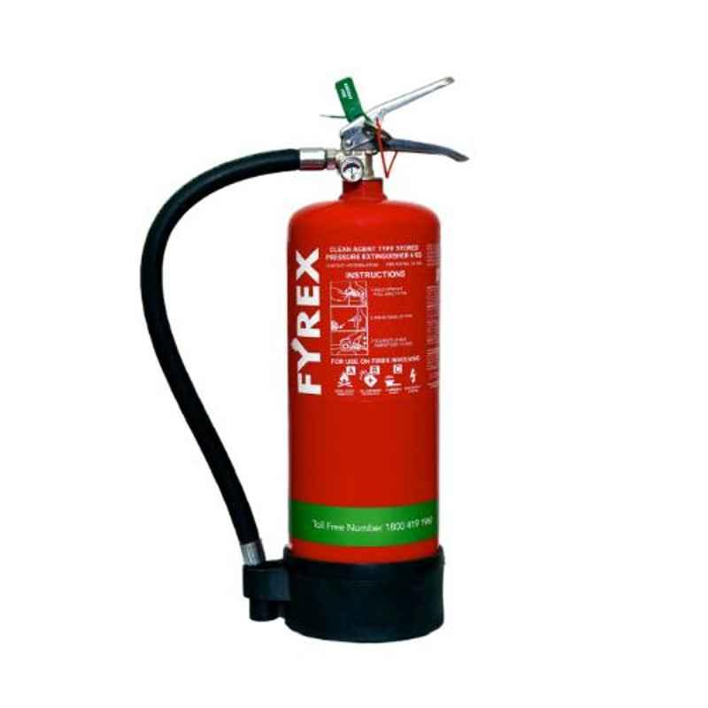 Fyrex FE36 Chemours Stored Pressure 4kg Clean Agent Fire Extinguisher, F0018