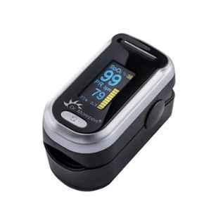 Dr. Morepen Black OLED Fingertip Pulse Oximeter, PO-09