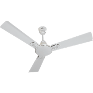 Polycab Eleganz Floral 75W 400rpm Pearl White Ceiling Fan, Sweep: 1200 mm