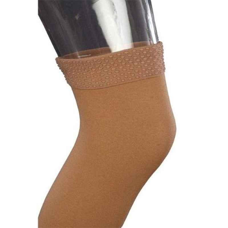 Comprezon 2102-004 Classic Varicose Vein Class-1 Beige Above Knee Stockings, Size: L
