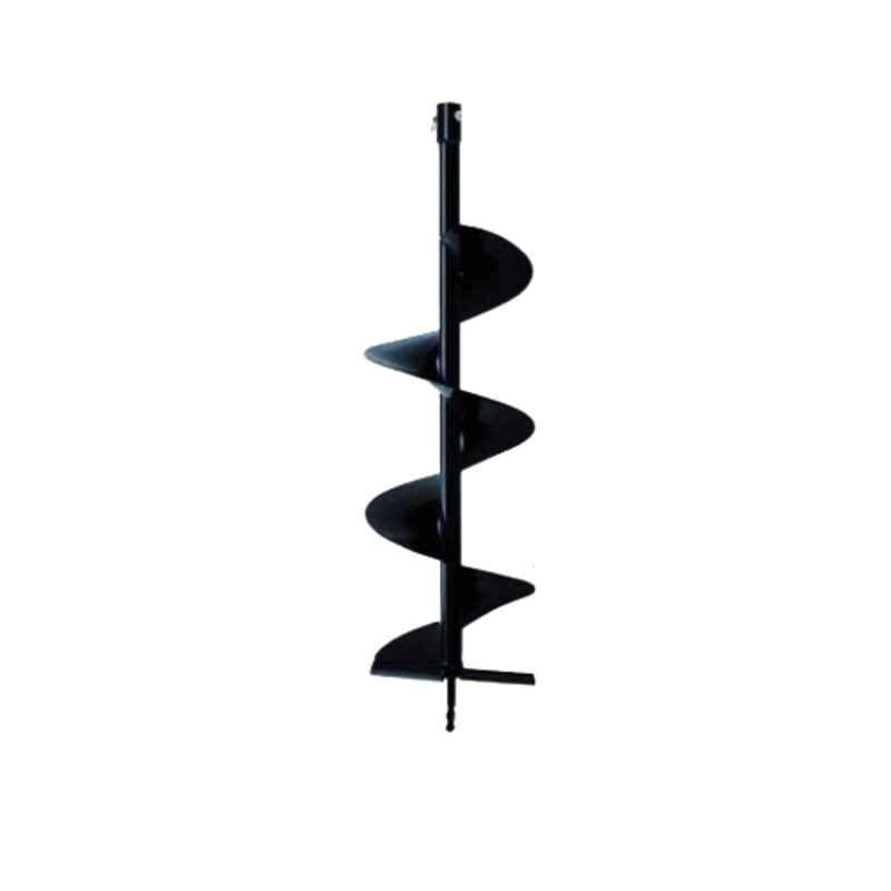 Kanak 8 inch Black Earth Auger Spiral Drill Bit