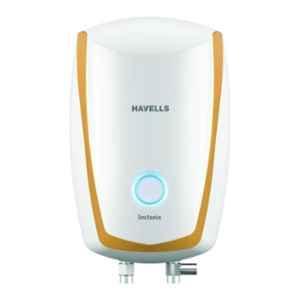Havells Instanio 3L 3000W White & Musturd Instant Water Heater, GHWAIAPWH003