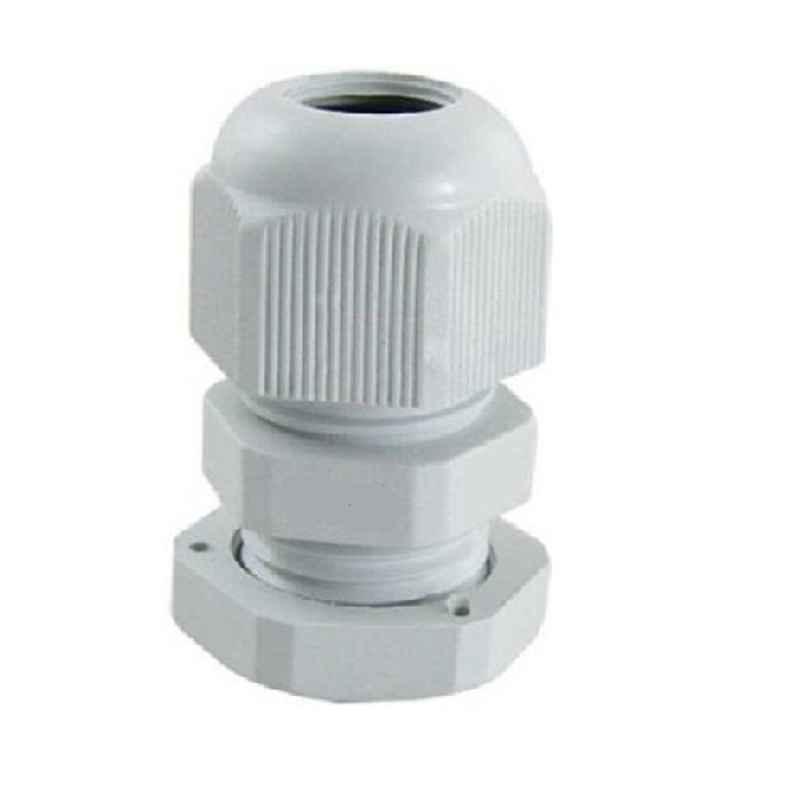 Aftec 18-22mm 100 Pcs Polyamide White PG Glands Packet, APG 7