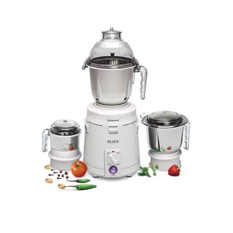 Sujata Dynamix 900W 3 Jar Mixer Grinder with 2 Years Warranty