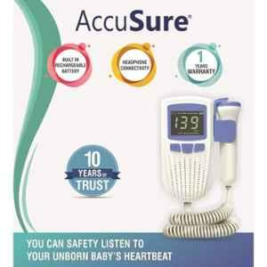 AccuSure Professional Fetal Doppler with USB Charging