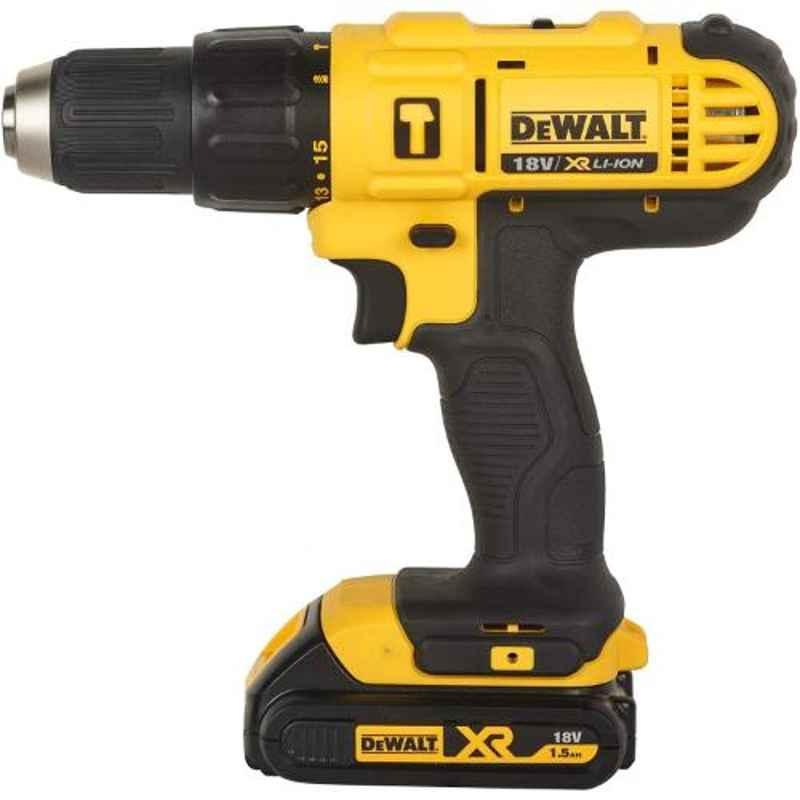 Dewalt 18V 13mm Hammer Drill Driver, DCD776S2A