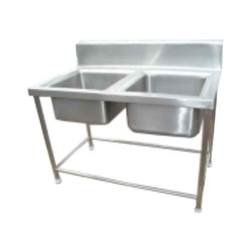 Star Fabricator 1200x600x850+100cm Double Bowl Stainless Steel Kitchen Sink