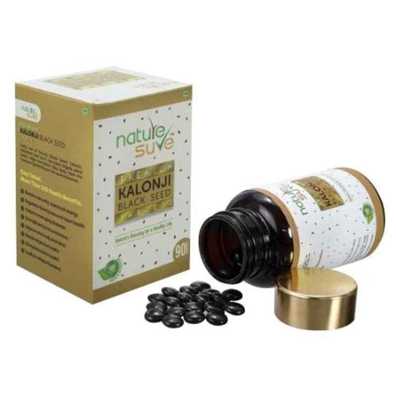 Nature Sure Premium 90 Pcs Kalonji Tablets