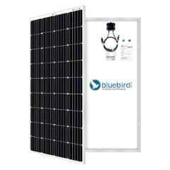 Bluebird 180W 12V Monocrystalline Solar Panel, BBS12MF180