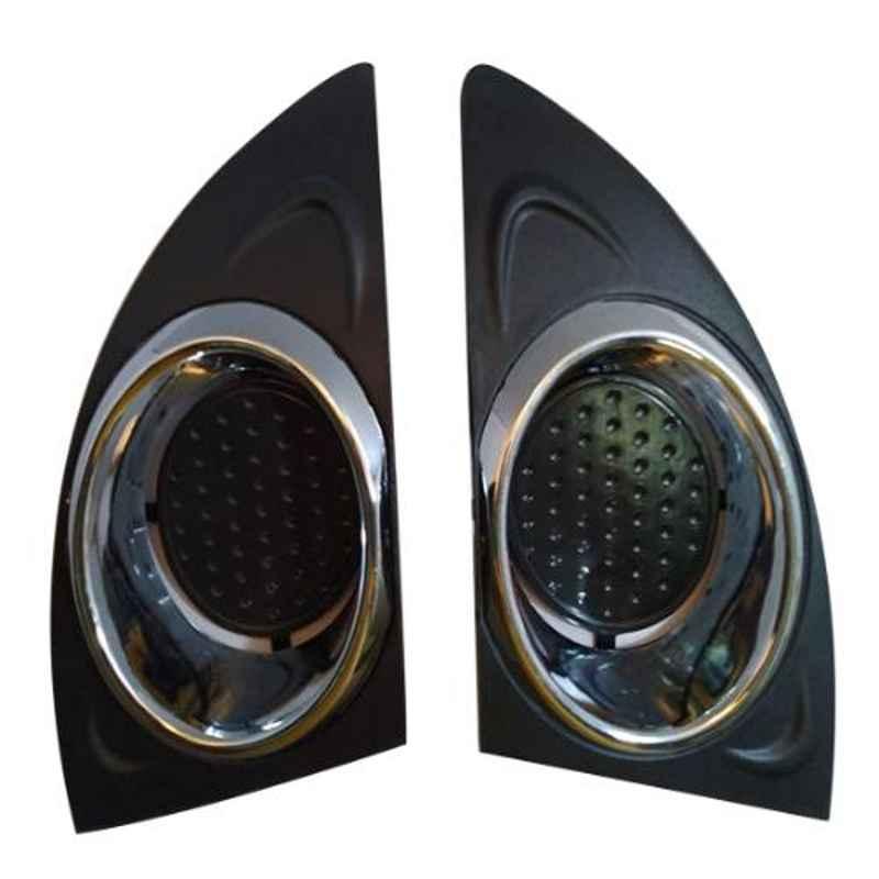 Accurate 2 Pcs Front Bumber Fog Light Cover Set for Tata Indica ECS, FLC-ECS