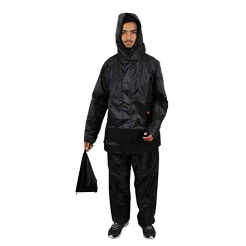 Duckback Rider Double Extra Large Polyester PVC Coating Rainsuit Set