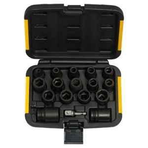 Dewalt 17 Pcs Impact Socket Drill Set, DT7506-QZ