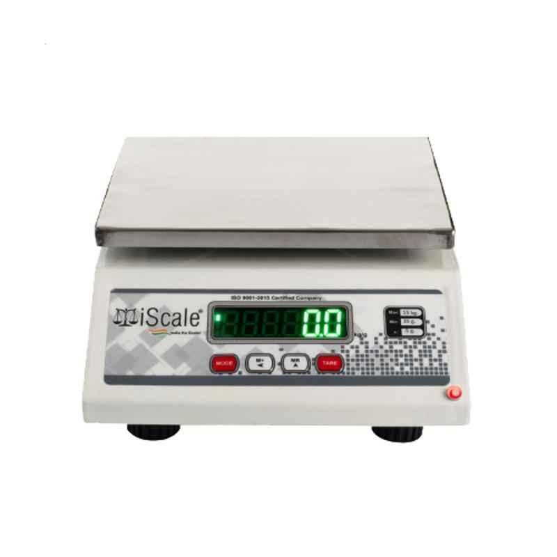 iScale Silver and Jewelry weighing machine with 15kg Capacity and 0.5g Accuracy