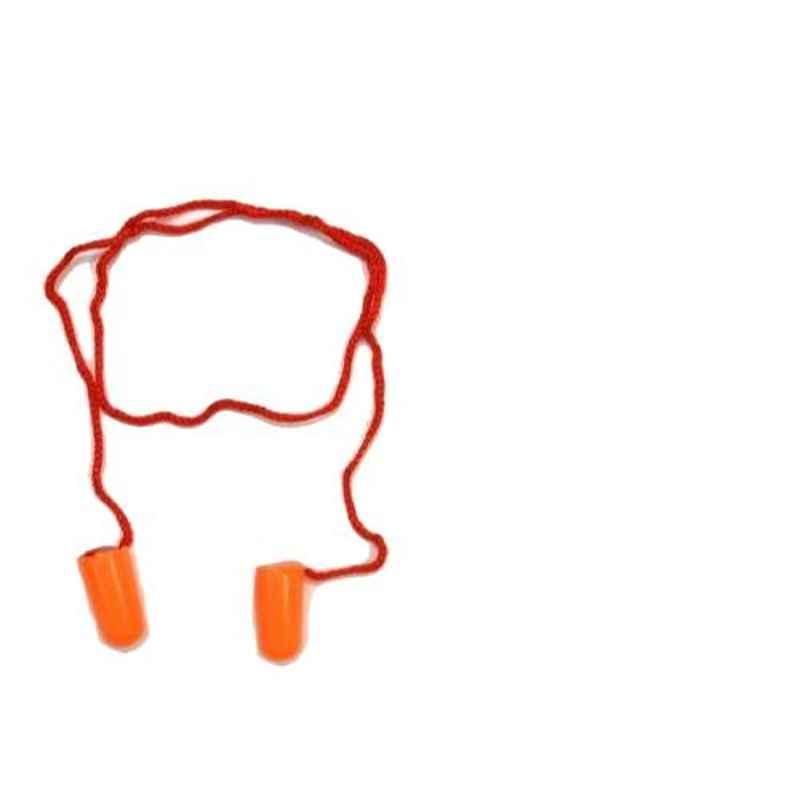 3 M  29 dB Orange Form Corded Ear Plug, 1110