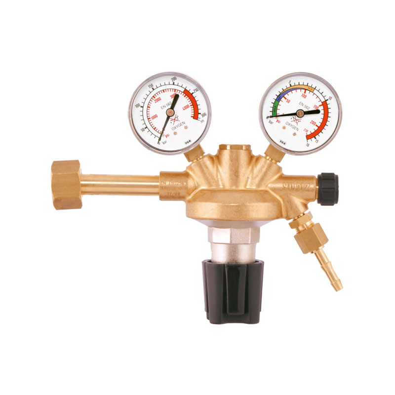 Yildiz Euro 230-10 bar Oxygen Pressure Regulator, 5201
