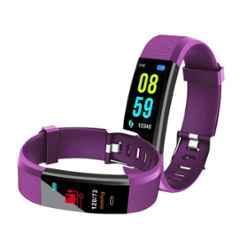 Bingo F0S 0.96 inch IP67 Purple Smart Fitness Band
