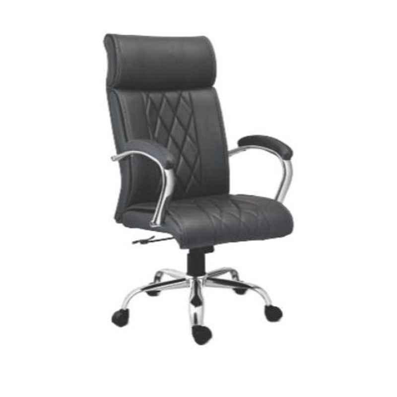Da Urban Spectra 21.5x21x47.5 inch Black High Back Director Chair, DU-119