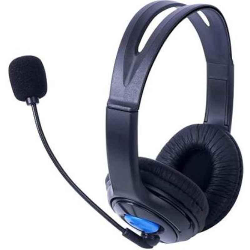 Lapcare LWS-004 Black On the Ear Wired Headphone