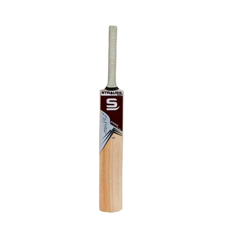 Strauss Wooden Short Handle Kashmir Willow Cricket Bat, ST-1537