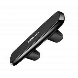 Portronics Magno II Black Magnetic Car Mobile Holder with 4 Powerful Magnets, POR 819 (Pack of 5)