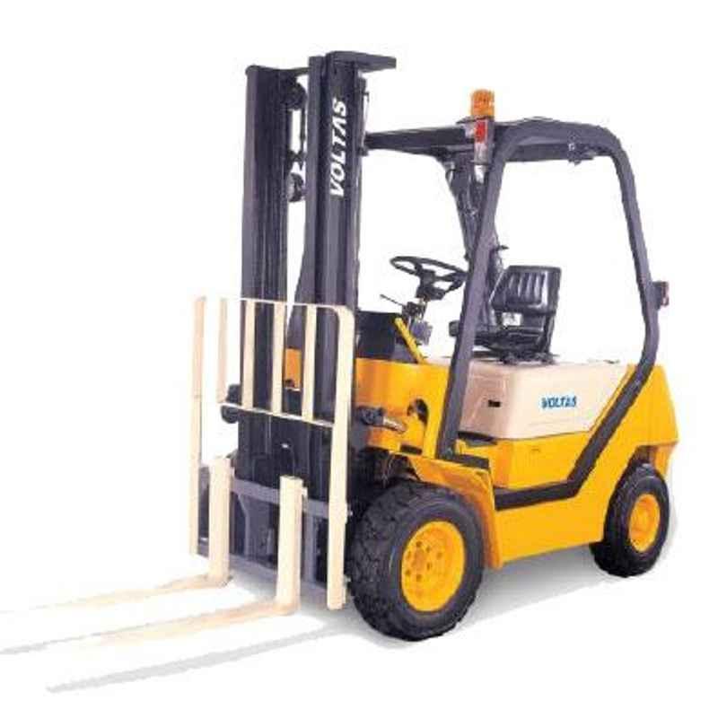 Voltas 2000kg 2 Stage Diesel Powered Forklift, DVX 20 FC BC HVM