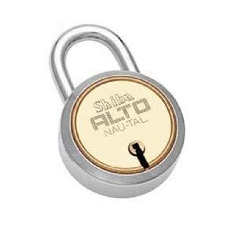 Smart Shophar 50mm Brass & Steel Gold Silver Alto Nau-Tal Padlock, SLK18PD-ALTO-GS50-P1