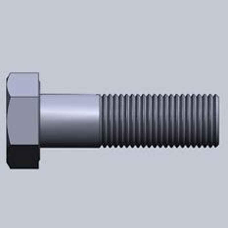 LPS Fasteners UNC Half Thread Hex Bolt Dia.5/8 Inch Length 4 Inch