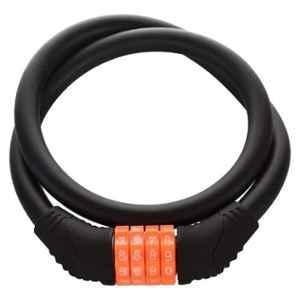 AllExtreme EXBNCL1 2ft 4 Digit Anti-Theft Protection Cable Number Lock Lock