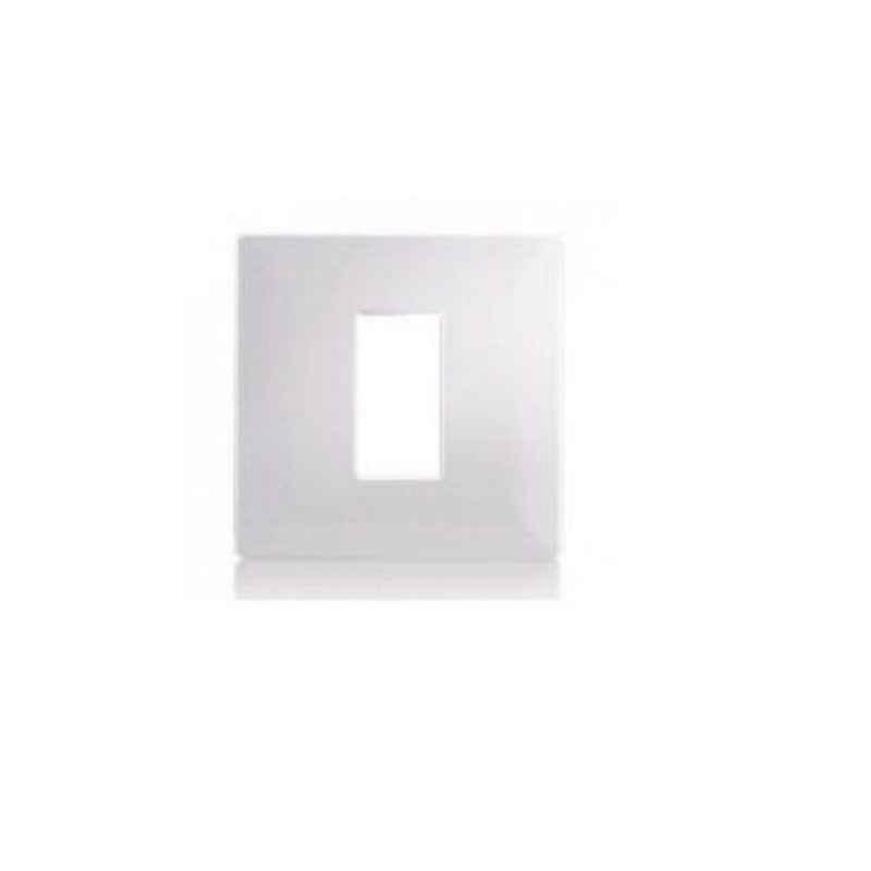Schneider Opale 1 Module White Grid & Cover Plate, X0701 (Pack of 10)