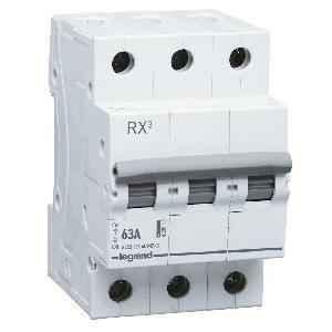 Legrand RX3 63A 3 Pole Isolator