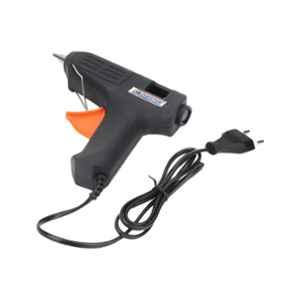 Cheston 40W Black Trigger Feed Hot Melt Glue Gun with 5 Glue Sticks, CHGG40W_5GLUE
